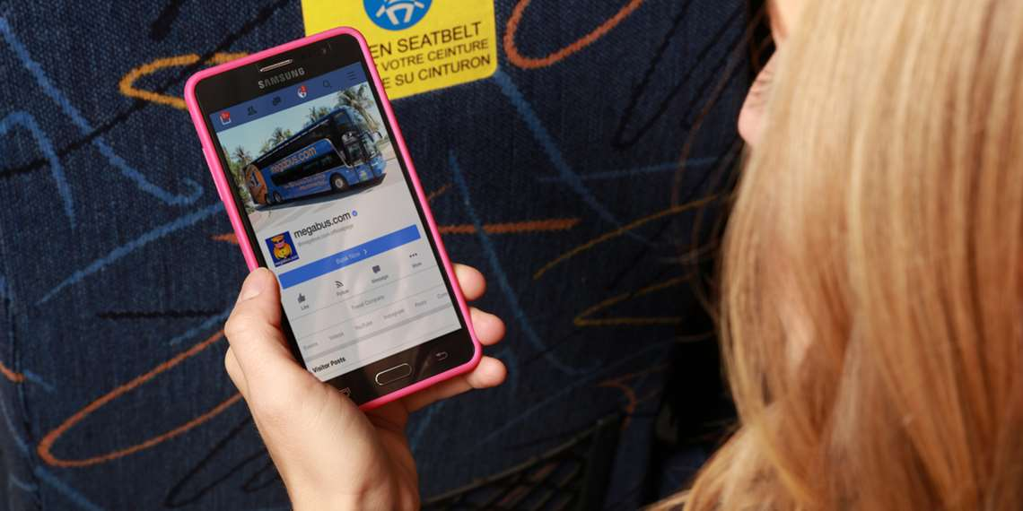 Bus Ticket Promotions on Social Media